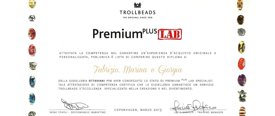Certificato Premium Plus Lab – Web