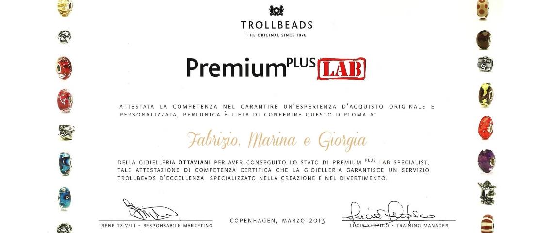 Certificato Premium Plus Lab – Web