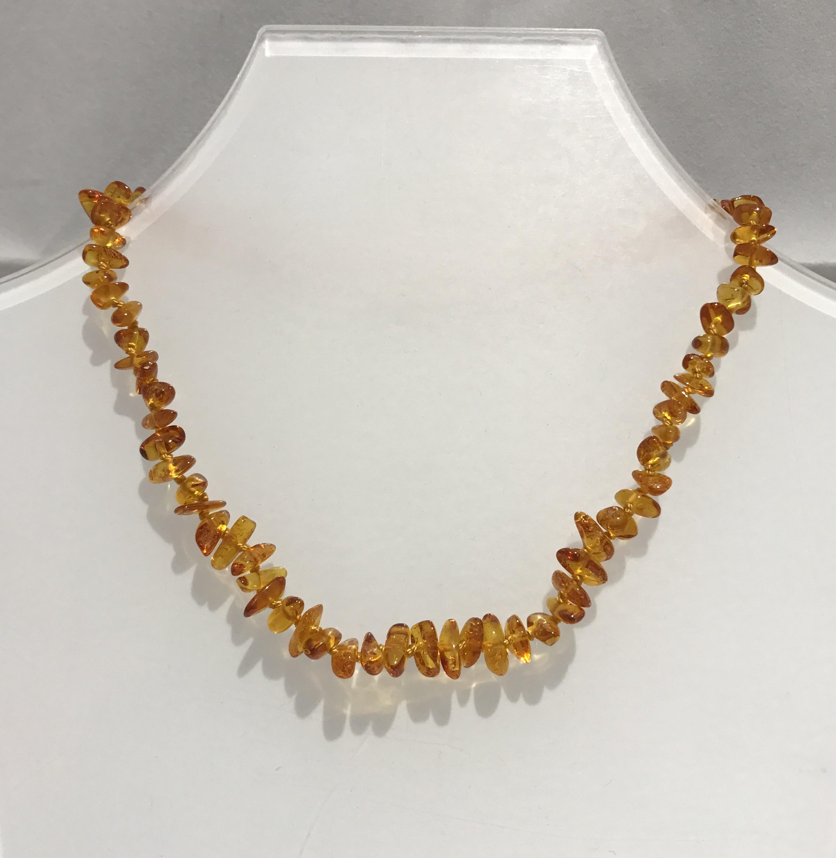 a basso prezzo a671e 09095 Collana di ambra naturale per bambini